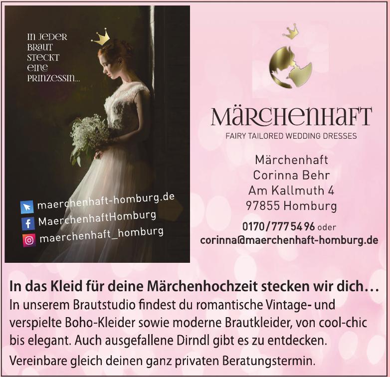 Märchenhaft Corinna Behr
