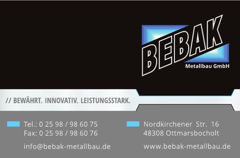Bebak Metallbau GmbH