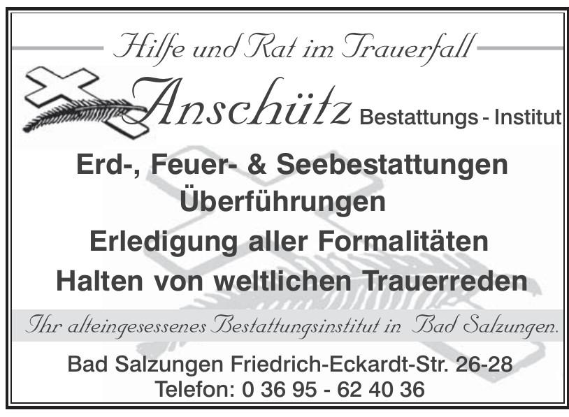 Anschütz - Bestattungs-Institut
