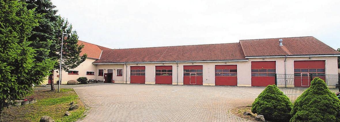 Das Gerätehaus der Feuerwehr befindet sich in der Gerichtsstraße 1 in Storkow. Hier wird es am 14. Juli unter anderem Vorführungen geben. Fotos: Feuerwehr Storkow