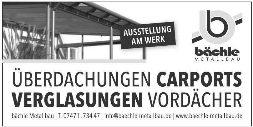 Bächle Metallbau