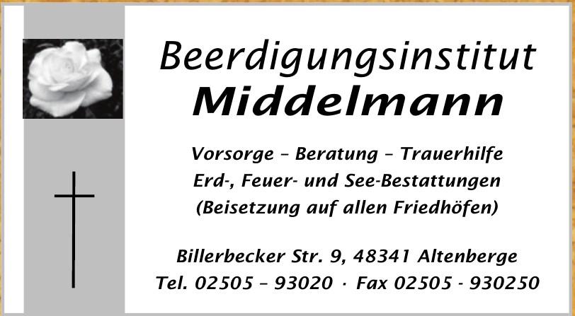 Beerdigungsinstitut Middelmann