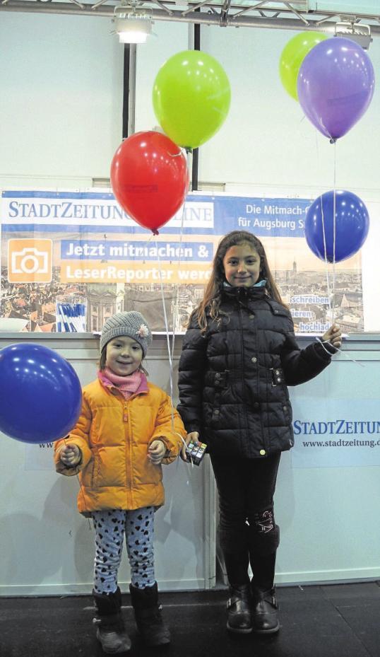 Auch die StadtZeitung ist wieder mit einem Stand vertreten und freut sich auf viele Besucher. Bei Fragen steht das Messeteam gerne zur Seite. Außerdem gibt es Zeitungen, Kalender und Luftballons.