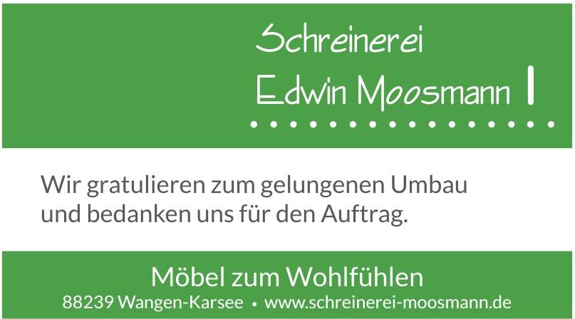 Schreinerei Edwin Moosmann