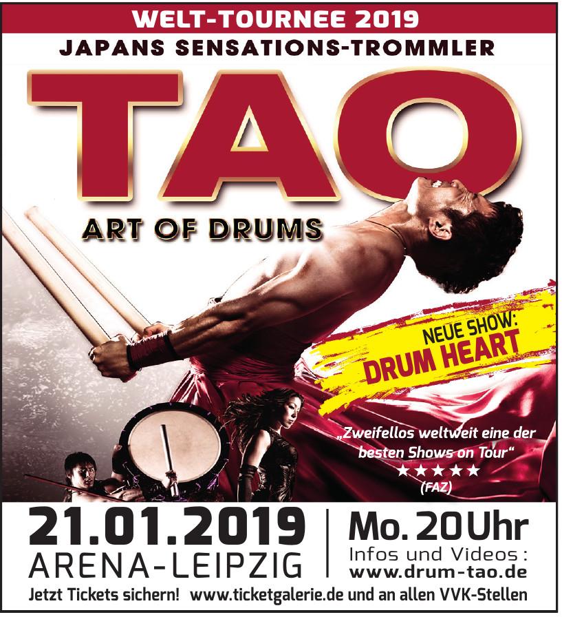 TAO Art of drums Arena Leipzig
