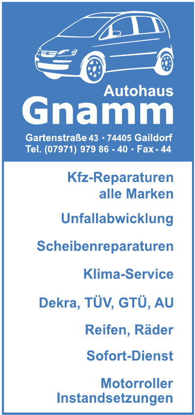 Autohaus Gnamm