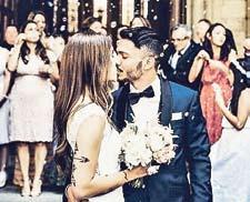 Leo Bittencourt vom 1. FC Köln heiratete Mitte Juni seine langjährige Freundin Saskia.