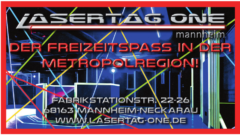 Lasertag One Mannheim
