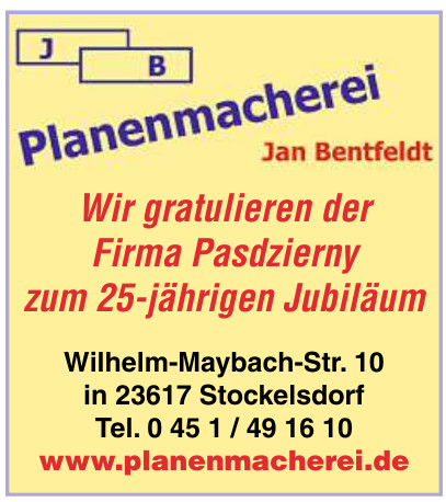 Planenmacherei Jan Bentfeld