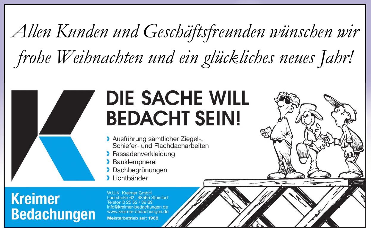 W.U.K. Kreimer GmbH - Bedachungsgeschäft
