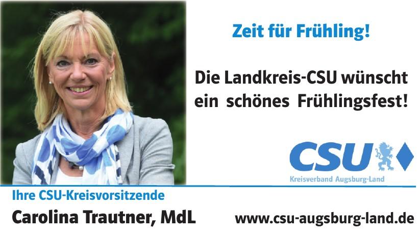 CSU-Kreisvorsitzende  Carolina Trautner, MdL