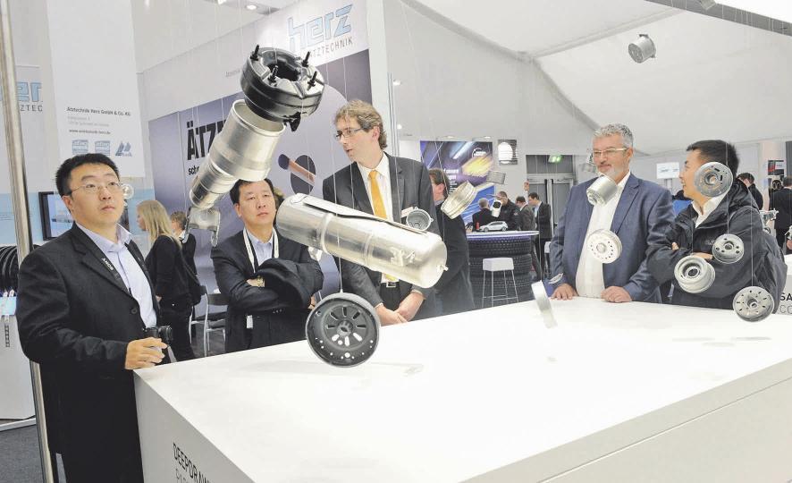 """""""Stars"""" der Messe sind Teile und Lösungen, aus denen ein Fahrzeug entsteht. Wolfsburg AG"""