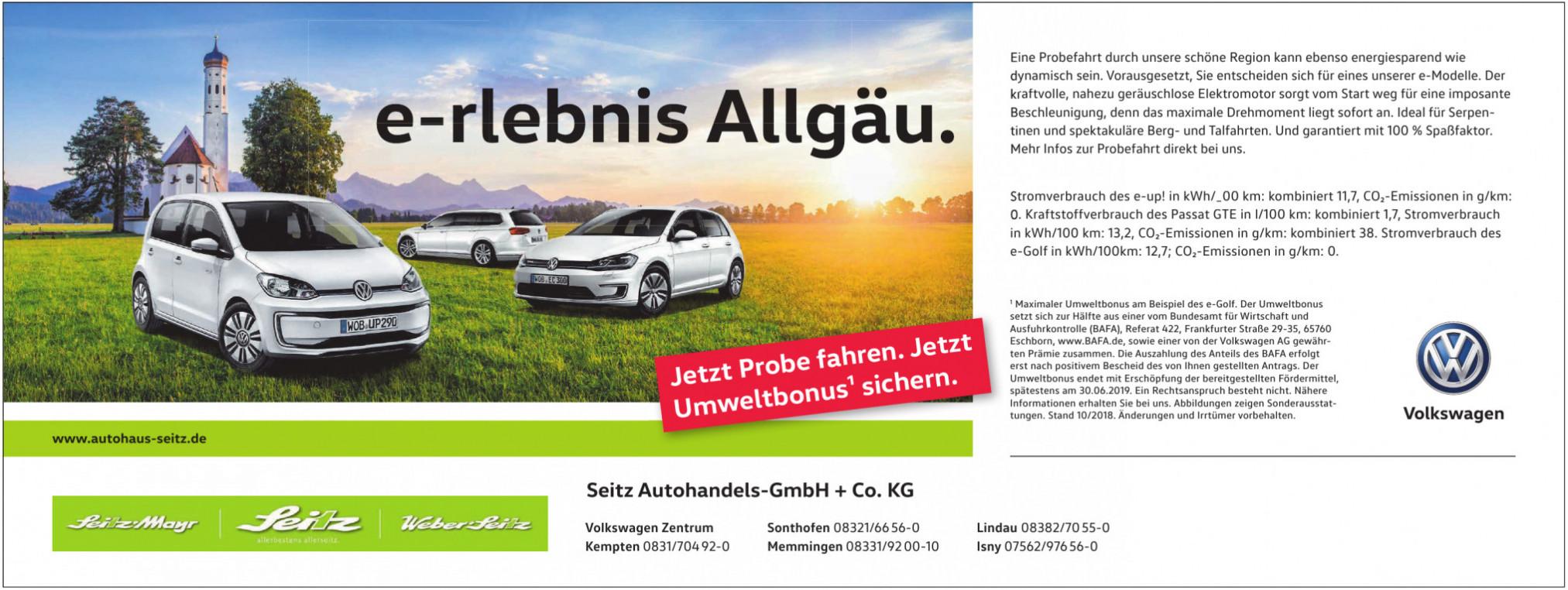 Seitz Autohandels-GmbH + Co. KG