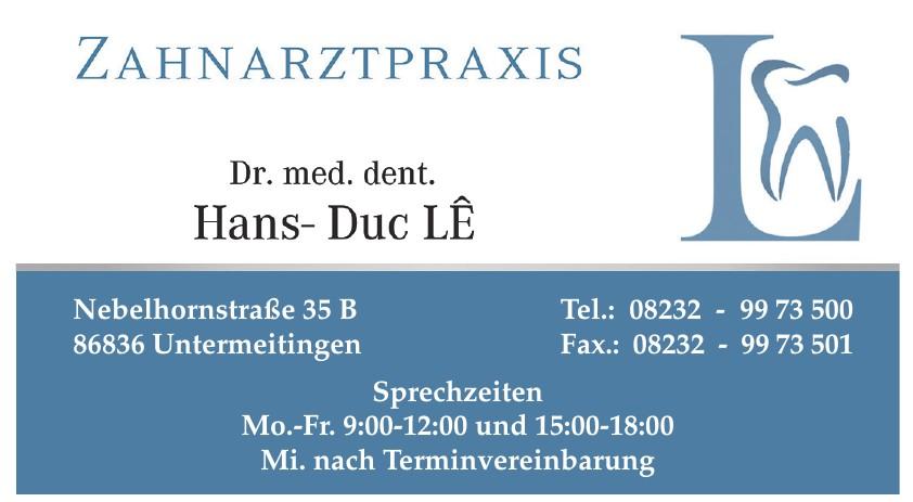 Zahnarztpraxis Dr. Hans-Duc LE