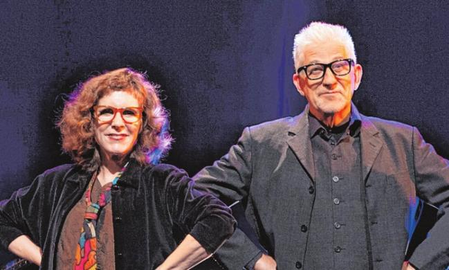Pianistin Sherri Jones und Ilja Richter PROMO