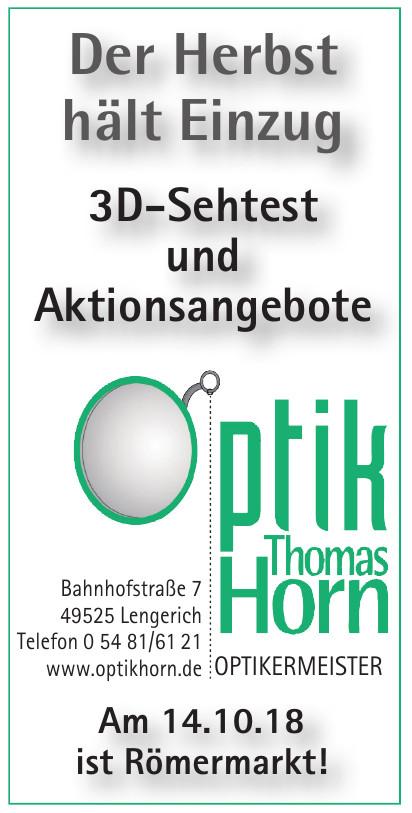 Optik Thomas Horn