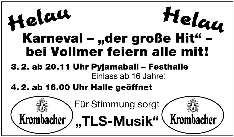 Hellau Karneval
