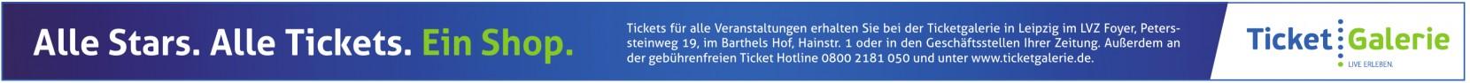 Ticketgalerie in Leipzig