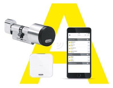 Smartphone wird Schlüssel – hier am Beispiel AirKey von EVVA: eine App speichert die Zutrittsberechtigungen
