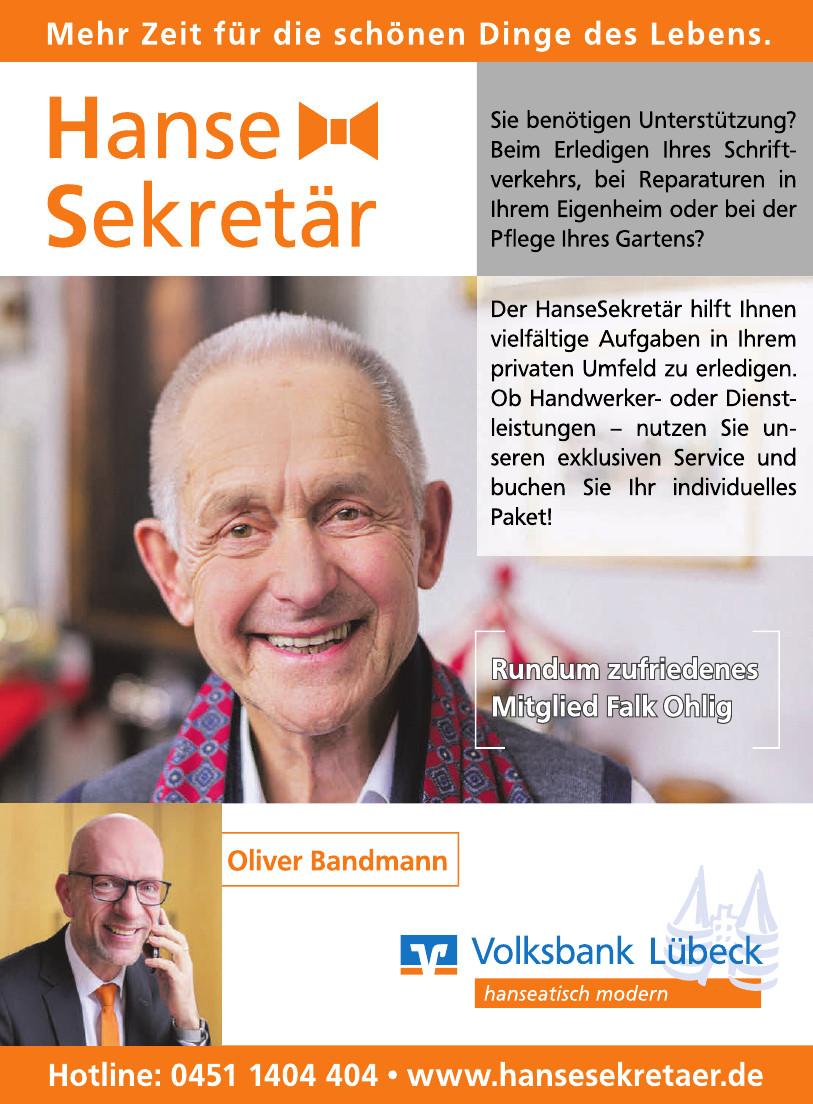 Volksbank Lübeck - Hanse Sekretär