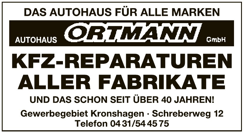Autohaus Ortmann GmbH