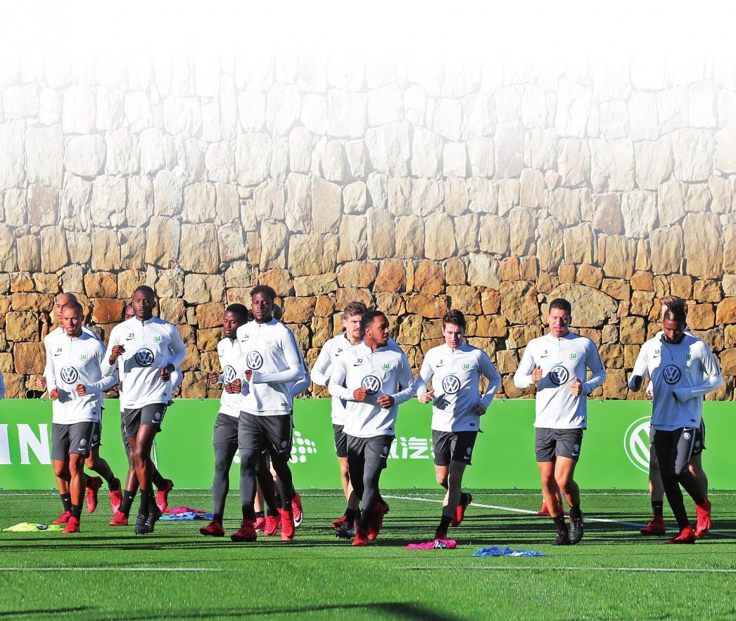 Kurze Winterpause: Der VfL in Marbella