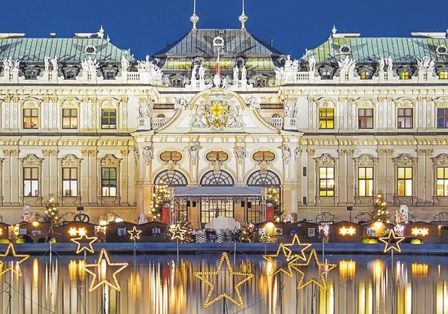 Wien im Advent – auf der Donau zu den schönsten Weihnachtsmärkten.