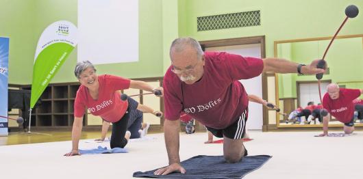 In den Workshops zur Fitness geht es um neue Ideen und Inspirationen.