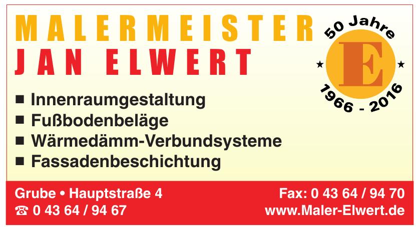 Malermeister Jan Elwert