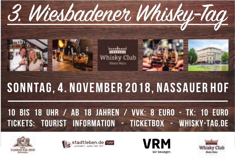 3. Wiesbadener Whisky-Tag