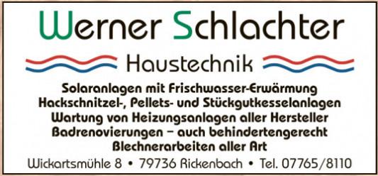 Werner Schlachter Haustechnik