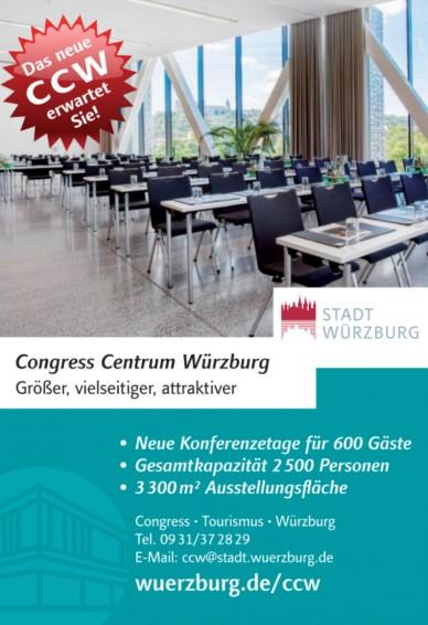 Congress - Tourismus - Würzburg