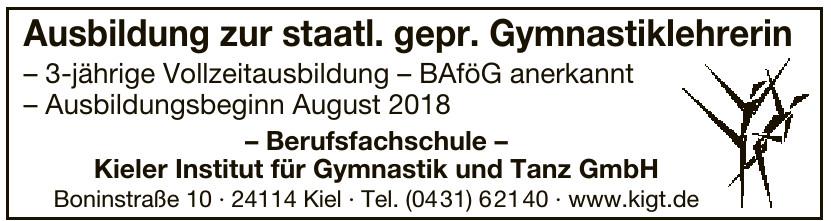 Kieler Institut für Gymnastik und Tanz GmbH