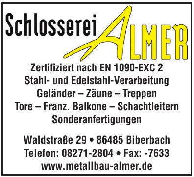 Schlosserei Almer