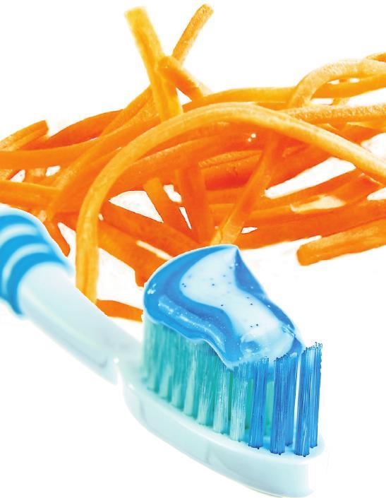 Wichtig vor allem für die ersten Schuljahre: Gemüse und regelmäßiges Zähneputzen sind unerlässlich für die Mundgesundheit.         Foto: Pixabay.com