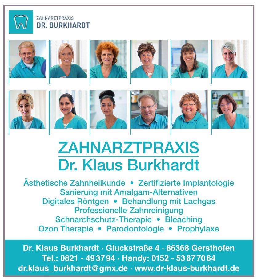 Dr. Klaus Burkhardt