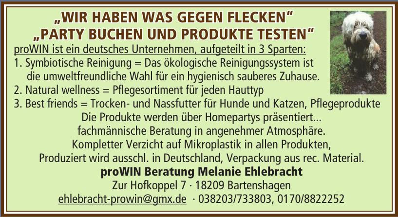 proWIN Beratung Melanie Ehlebracht