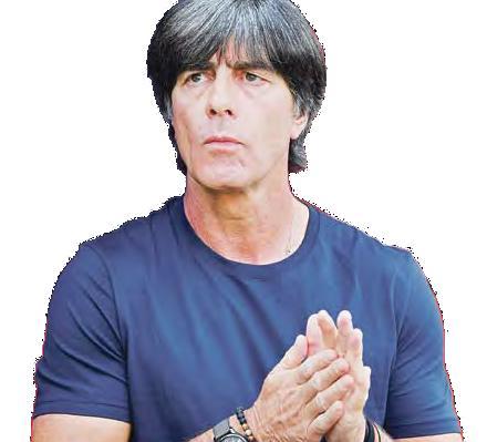 Drei, auf die Bundestrainer Joachim Löw (unten) in Zukunft – wieder – setzen könnte.