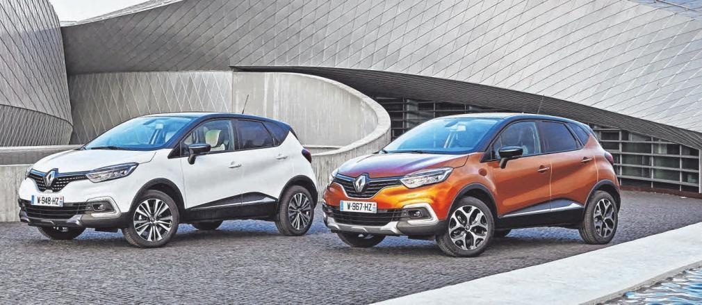 Der Renault Captur macht seinem Ruf als moderner Crossover alle Ehre und hat sich neu erfunden. FOTO: RENAULT