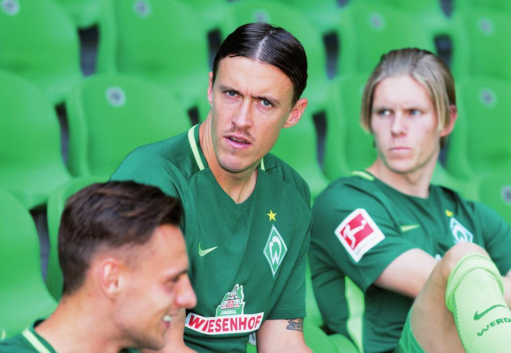 Erst vielleicht weg, aber dann doch weiterhin da: Werders Ex-Wolfsburger Max Kruse.