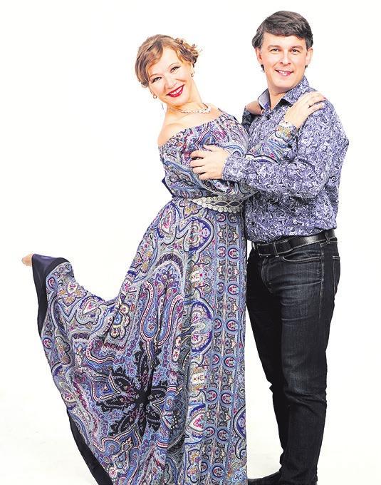 Tschuklinova und Tschuwaschov.