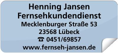 Henning Jansen Fernsehkundendienst