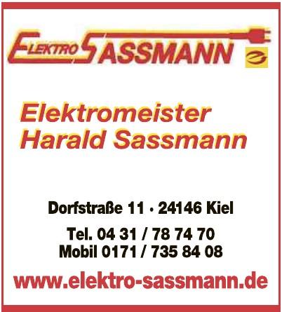 Elektro Sassmann