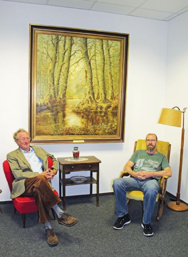 Dr. Meinhardt Leopold und Roland Polze engagieren sich mit Leidenschaft für den Heimatverein Vorsfelde.