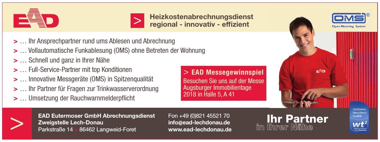 EAD Eutermoser GmbH Abrechnungsdienst Zweigstelle Lech-Donau