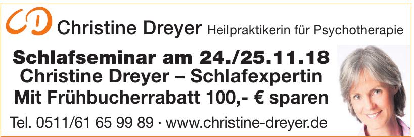 Christine Dreyer Heilpraktikerin für Psychotherapie