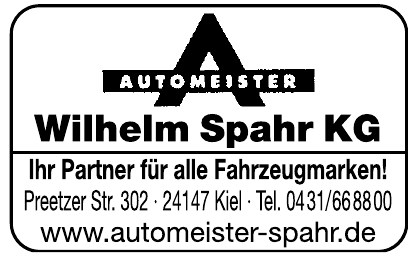 Wilhelm Spahr KG