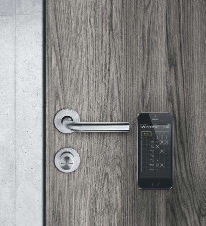 Elektronisch schließen: Beispiel MobileKey von Simons Voss