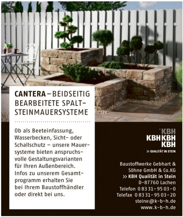 Baustoffwerke Gebhart & Söhne GmbH & Co.KG