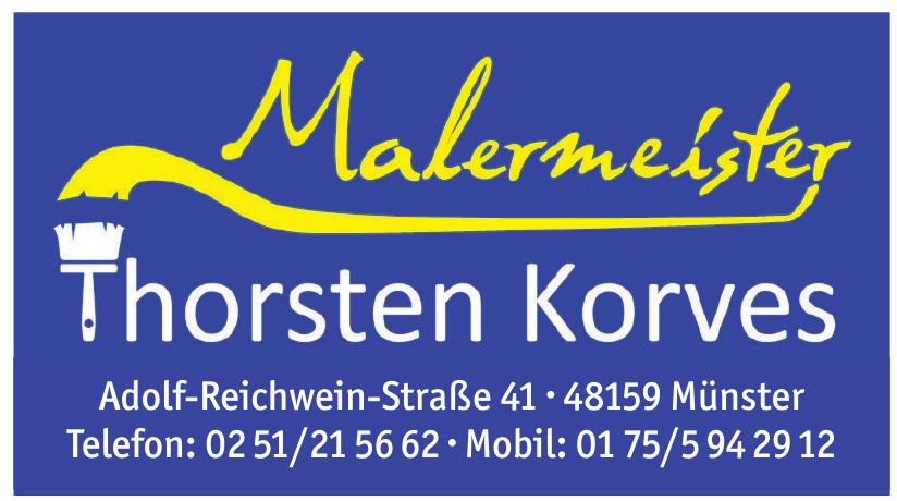Malermeister Thorsten Korves